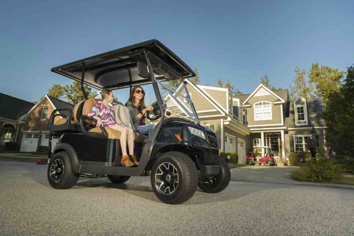 Club Car Four Passenger Onward Golf Cart