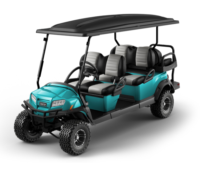 Onward 6 Passenger golf cart color switcher ocean
