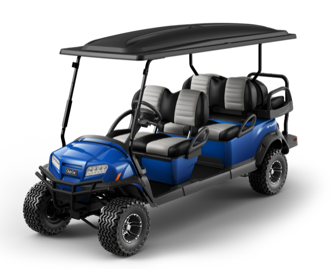 Onward 6 Passenger golf cart color switcher pearlblue