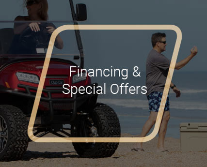 Golf Cart Financing and Special Offers