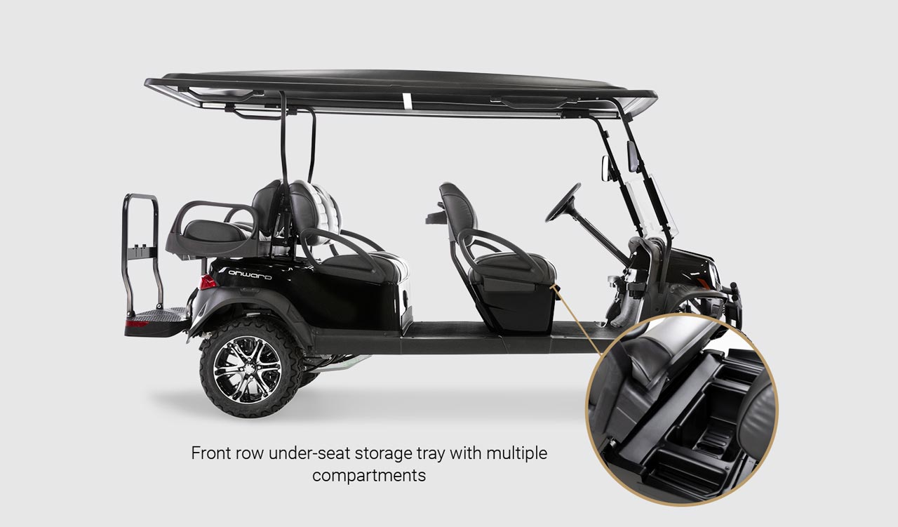 Onward 6 Passenger golf cart Detail Slider 5