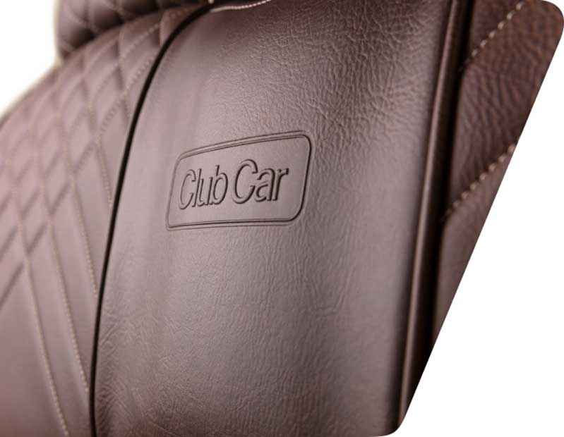 Club Car embossed golf cart seats 799x620