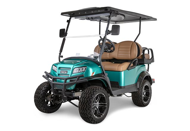 Onward lifted 4 passenger golf cart with high performance package