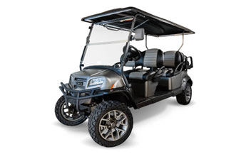 Onward Electric golf cart 6 passenger lifted 345x217