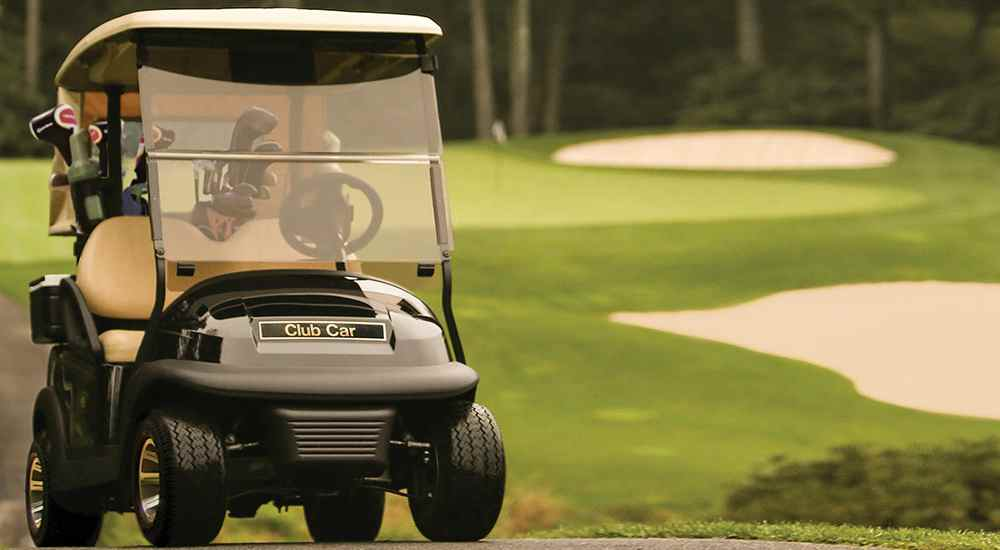 Precedent i3 fleet golf cart for golf courses