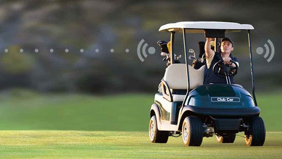 Club Car Precedent i3 fleet golf car with Visage Connected technology was named a Best Golf Cart by Golf Digest