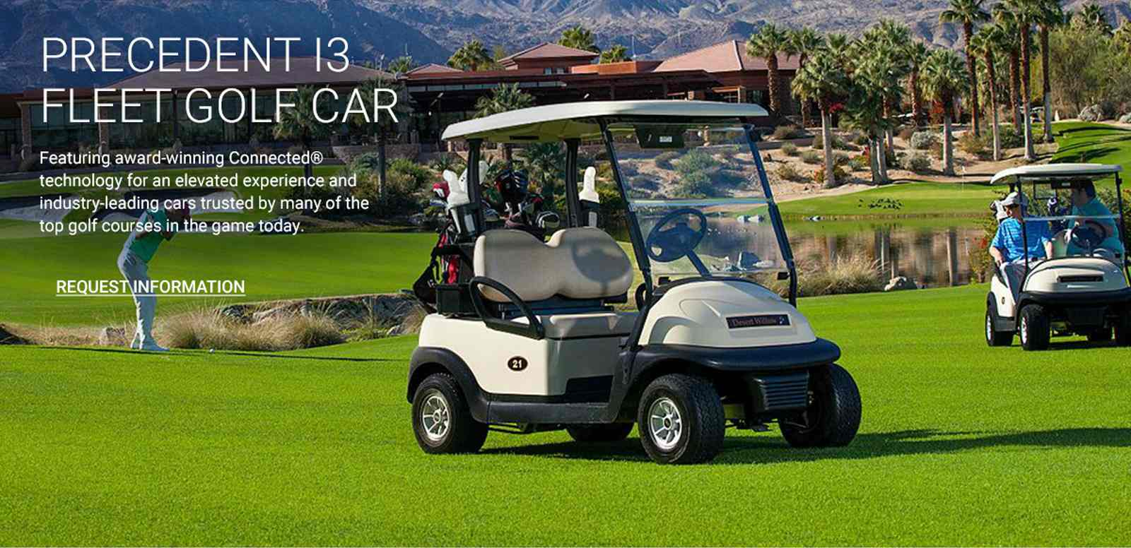 El coche de golf Precedent i3 de Club Car