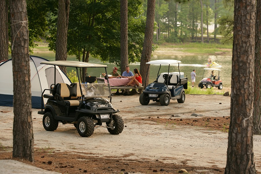 Enjoy the offroad with our campground golf cart rental options!