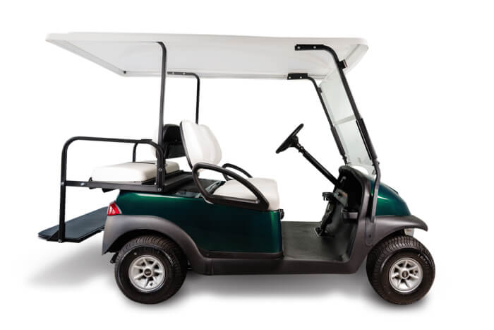 Precedent remanufactured 2 in 1 used golf cart