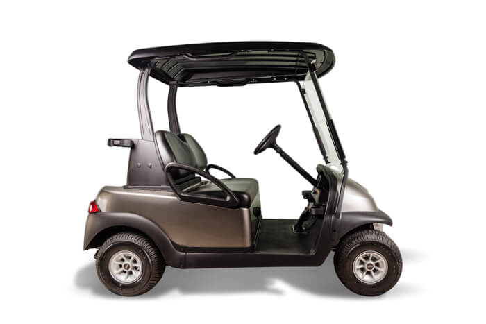 Precedent base model used golf cart