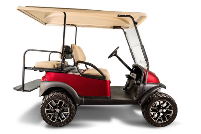 Precedent XF 2 in 1 used golf car