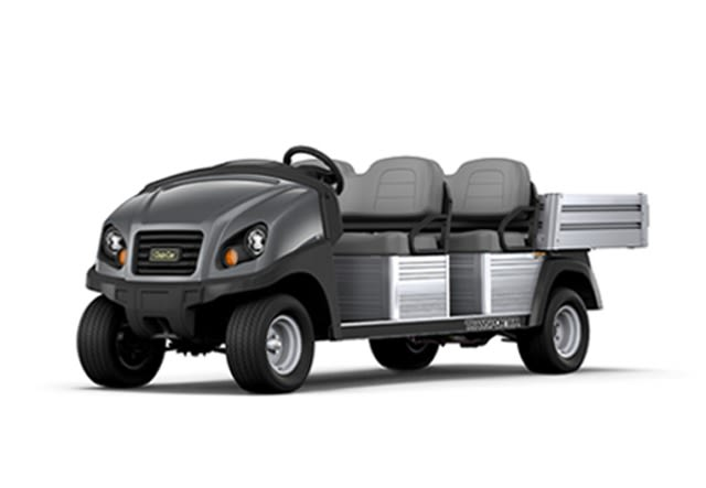 Club Car's Tranporter utility vehicle is great for moving people at government facilities