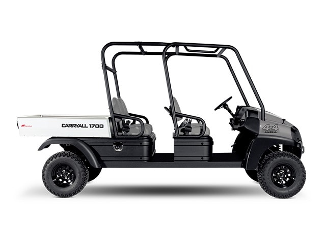Club Car's Carryall 1700 4WD 4x4 commercial utility vehicle for industrial sites