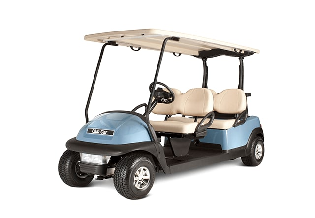 Club Car's Precedent Stretch PTV golf cart