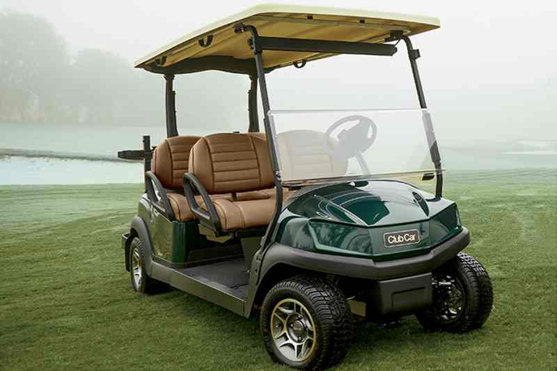 Tempo 4Fun golf fleet vehicle, from Club Car