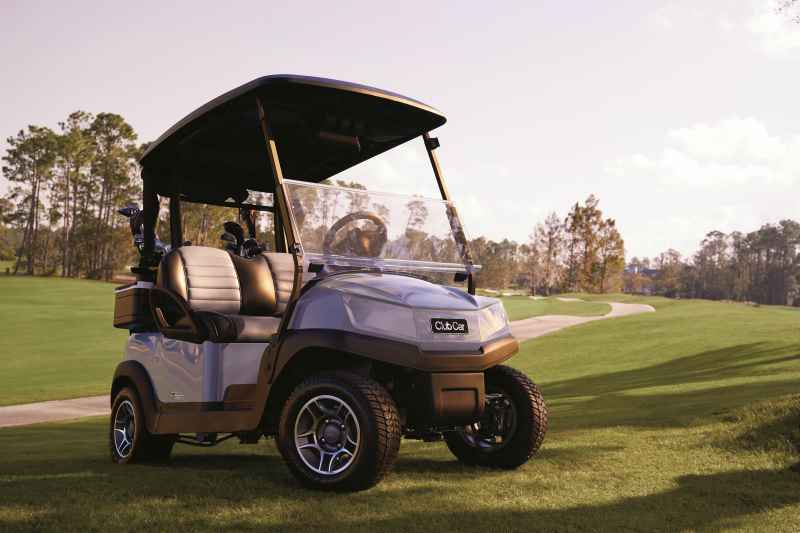 Tempo, from Club Car, is a new fleet golf cart with automotive styling and connected technology