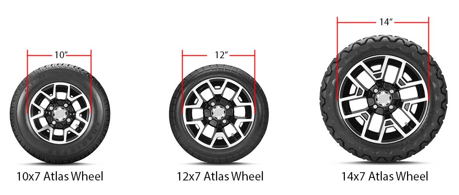 tire search tire size comparison graphic