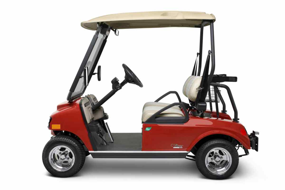 Golf cart Villager Villager 2 LSV EU LSV2LDP Red Lg