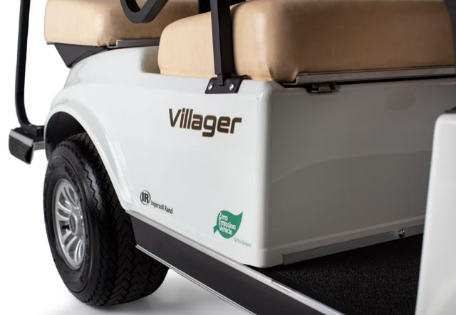 Golf cart Villager 6 shuttle rear body