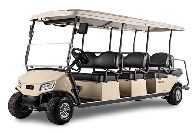 Golf cart Villager 8 shuttle