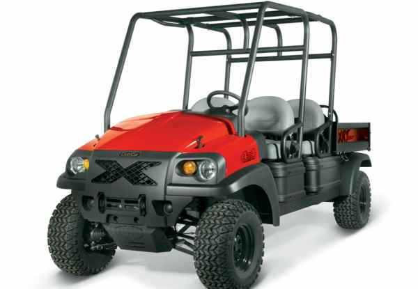 Club Car's XRT 1550 4x4 personal utility vehicle UTV